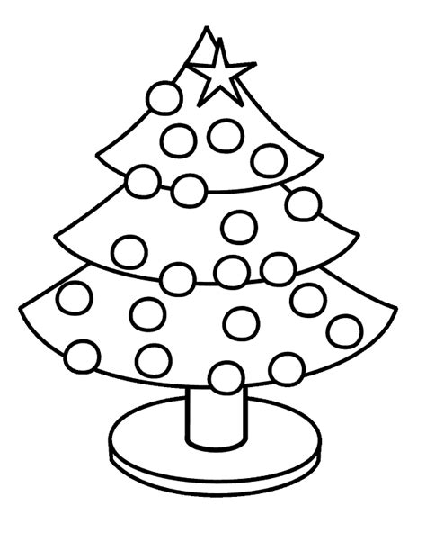 Christmas Tree Coloring Pages - Where To Find Them, Ideas