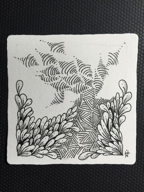 zentangle pattern indy rella 26 best images about tangled transitions on pinterest