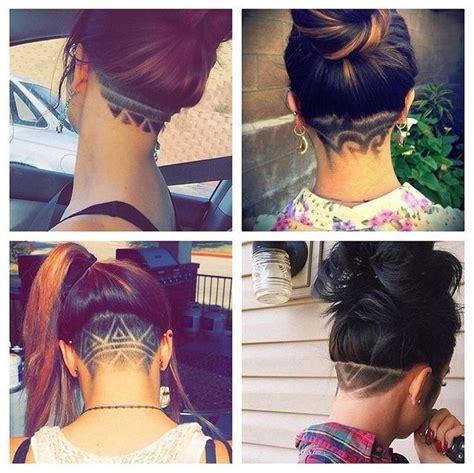 haircut designs on back of head 220 ber 1 000 ideen zu nacken unterschnitt auf pinterest