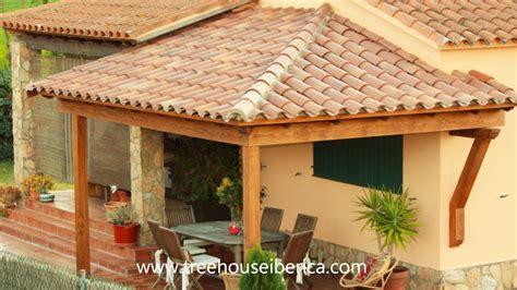 porches de casas de co construcci 243 n porche de madera por treehouse iberica