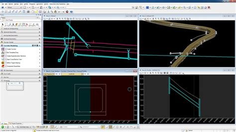 bentley 3d modeling software road design analysis and modeling software inroads suite