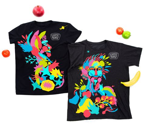 t shirts with vegetables on them corporate identity and packaging for products