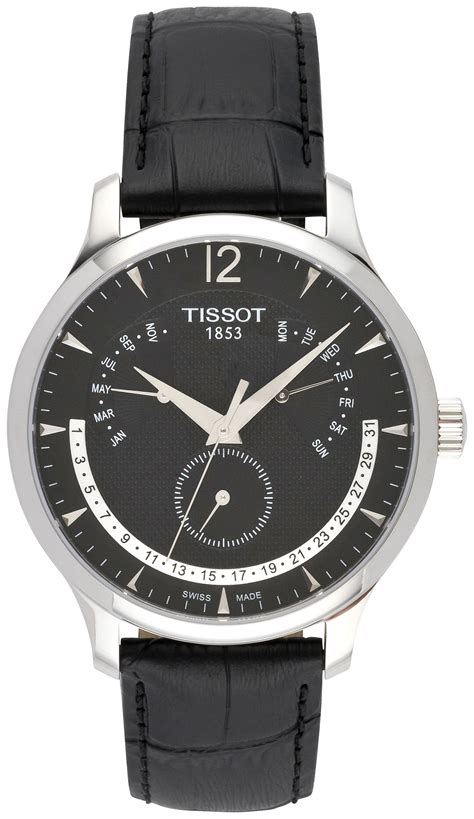 Tissot Tradition T063 637 16 057 00 Original tissot t classic tradition ewiger kalender t063 637 16