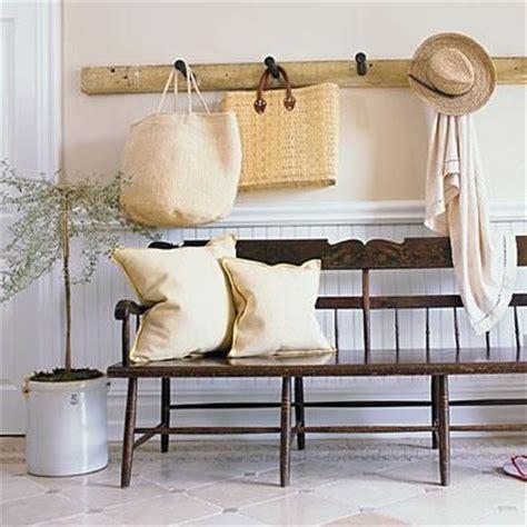 entrance hall bench scott sanders lookbook neutral tones