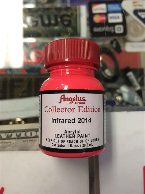 angelus paint vs angelus collectors edition infrared 2014 acrylic leather