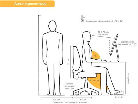 ergonomie poste de travail bureau hauteur d un bureau de travail xz16 jornalagora