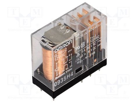 Omron G2r Relay g2r 2 12vdc omron relay electromagnetic tme