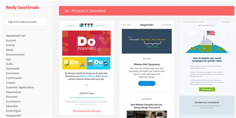 great mailchimp templates email newsletter inspiration picked by mailchimp
