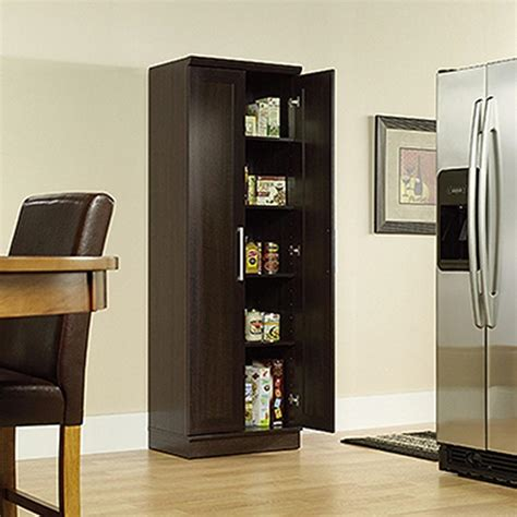 sauder home plus oak storage sauder home plus dakota oak storage cabinet 411985 the