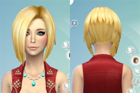 download hair and clothes for sims 4 19 non default hair recolors at darkiie sims4 187 sims 4 updates
