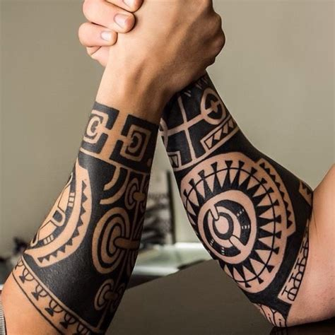 maori tattoo 4 tribal forearm tattoo on tattoochief com