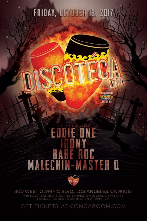 Conga Room Bottle Service by Discoteca Dtla At Conga Room Friday Oct 13 Guestlist
