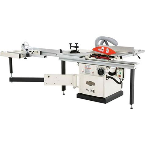 power saws shop fox 5 hp 10 inch sliding table saw w1811