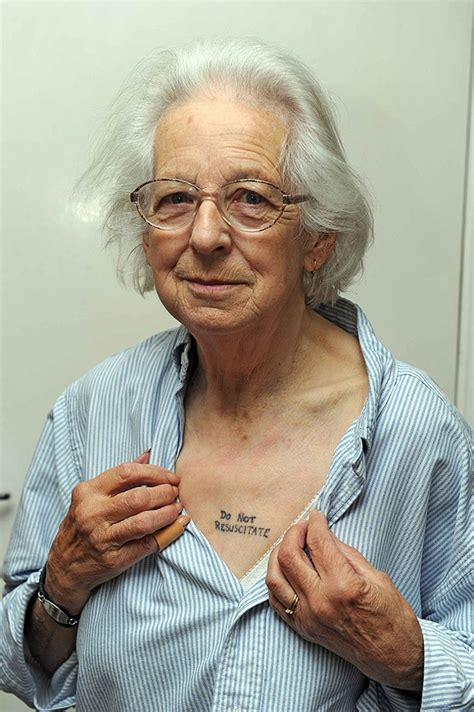 tattooed granny badass gets a special in hopes of a peaceful