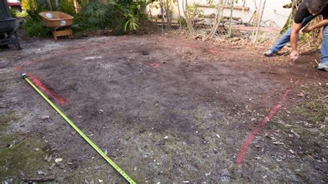 diy paver patio with grass add outdoor living space with a diy paver patio hgtv