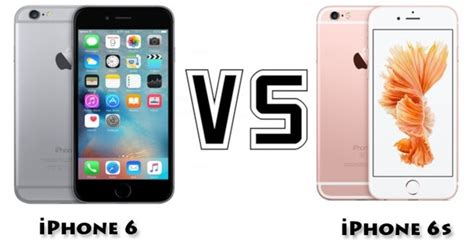 what s the difference between the iphone 6 and the iphone 6s quora