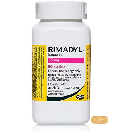 rimadyl 75 mg for dogs rimadyl 75 mg 180 caplets