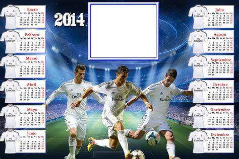Calendario D Real Madrid Calendarios Para El 2014 Futbol Espa 241 A Png