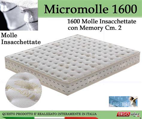 materasso con molle insacchettate e memory micromolle micro molle molle insacchettate molle