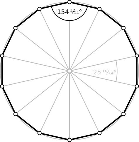 12 Sided Polygon Interior Angles Tetradecagon Wikipedia