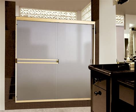 Frosted Glass Sliding Shower Doors Decorating Minimalist Bathroom With Sliding Shower Doors