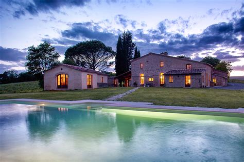 Tuscan Home Interiors Villa Di Montesoli Luxury Holiday Villa In Siena Area
