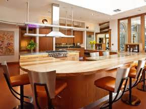 Large Kitchens With Islands modern kitchen with large breakfast bar this midcentury modern kitchen