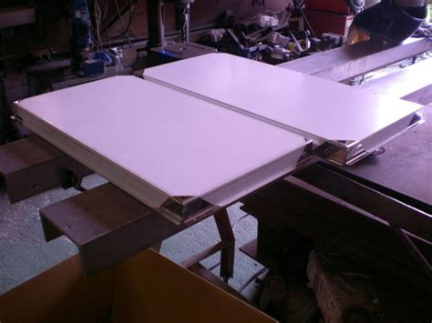 outdoorsko c 2 185 187 ステンレスの工場日記 側板加工