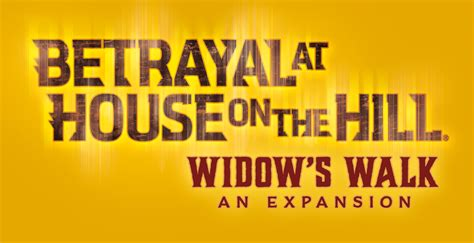 betrayal at house on the hill expansion betrayal at house on the hill widow s walk preview
