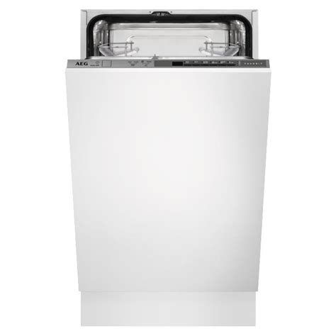 Dishwasher With Floor Display - aeg slimline fully integrated 45cm dishwasher with light