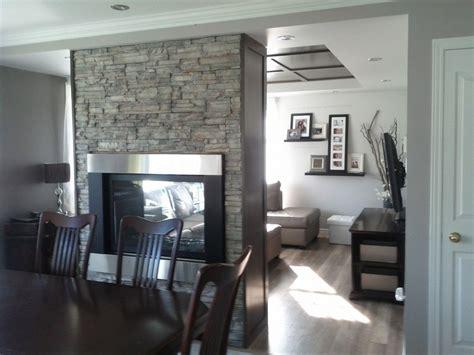 Briquette Blanche Interieur by Salon Design D Int 233 Rieur Ton De Gris Foyer Mur De
