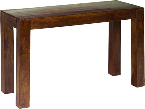 Jaipur Furniture Dakota Walnut Console Table Jaipur Furniture