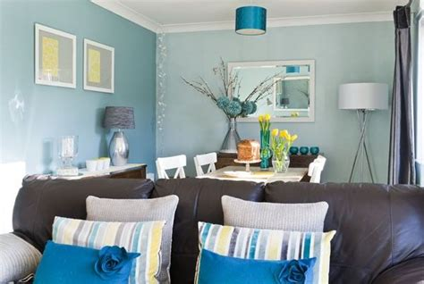 teal living room accents teal living room with yellow accents for the home