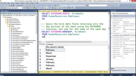 Microsoft Sql Server querying microsoft sql server 2012