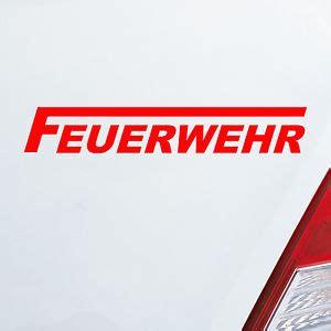 Auto Aufkleber Feuerwehr by Feuerwehr Autoaufkleber Aufkleber Ebay