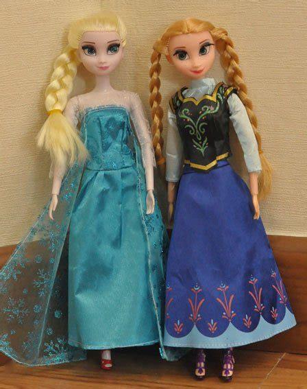 Boneka Frozen Doll Fancy littleprincess frozen dolls and elsa limited stock