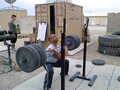 miguel toledano gets ready for the open 2010 crossfit