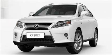 Headl Lexus Rx 270 Original lexus rx270 x special edition launched