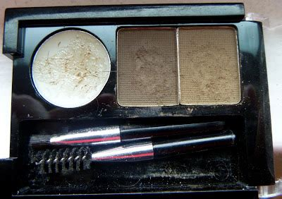 M N Eyebrow Cake Powder glitter n glam makeup by chrissy nyx eyebrow cake