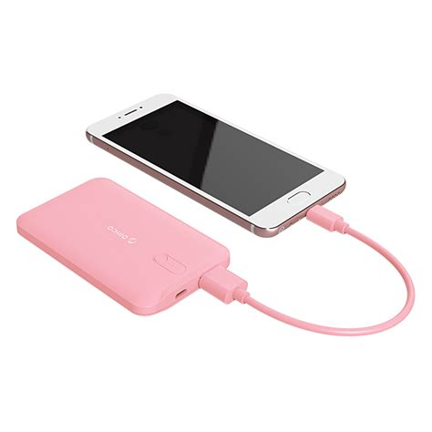Orico Power Bank 2500mah Ld25 Pink orico 2500mah smart power bank with polymer a cell ld25