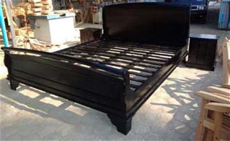 grand king bed grand king bed frames in solid teak wood at wholesale