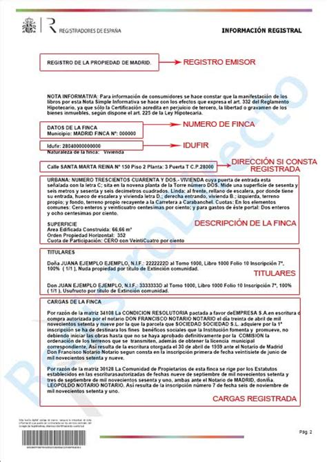 registro bienes muebles alicante pedir nota simple del registro de la propiedad por cru o