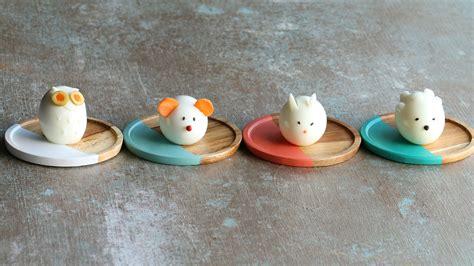 Animal Egg animal shaped boiled egg 4 ways