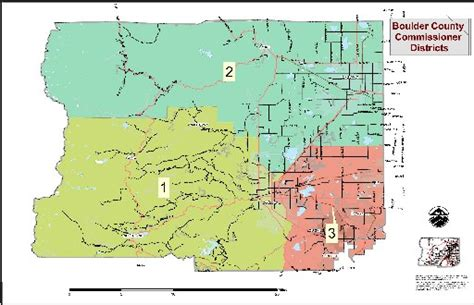 map of colorado county boundaries boulder county to set new commissioner district boundaries