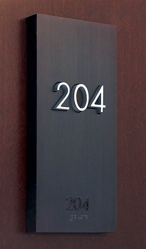 room signs the montana residence signage hotel room number by