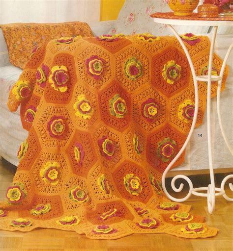 piastrelle uncinetto per coperte coperta uncinetto piastrelle esagonali 1 magiedifilo