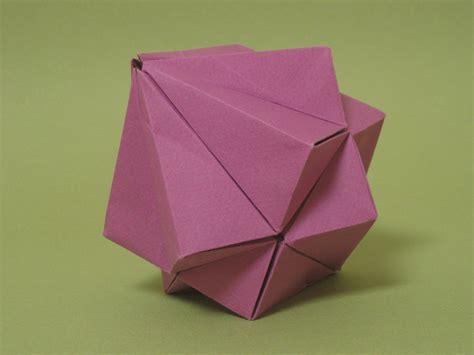 Origami Polyhedra - origami polyhedra 28 images modular origami polyhedron