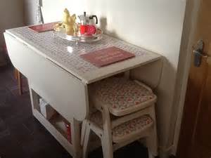 Drop Leaf Table With Storage Adorable Drop Leaf Table With Chair Storage Homesfeed