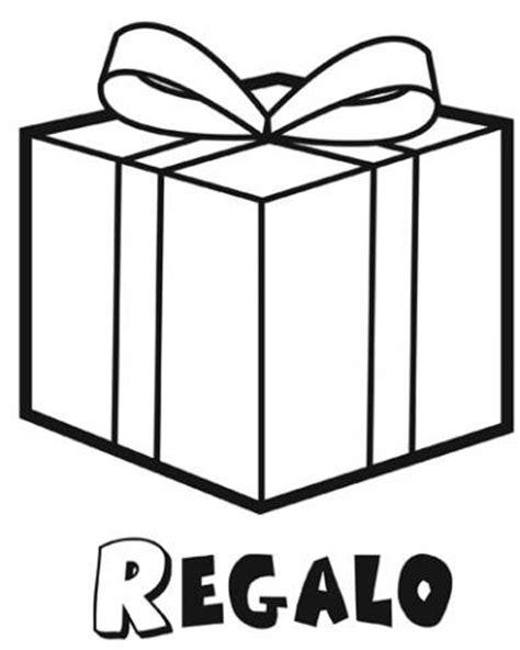 imagenes de navidad para colorear regalos dibujo para imprimir y colorear de un regalo navide 241 o