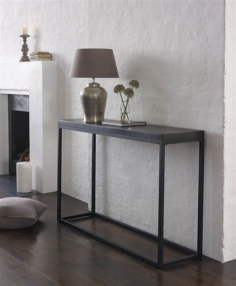 Room And Board Console Table Slim Console Tables That Will Add The Sophistication Of Your Living Room Ideas Homesfeed